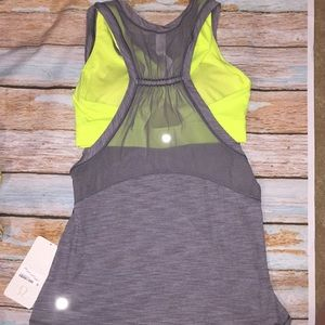 Lululemon work the circuit sport bra tank top